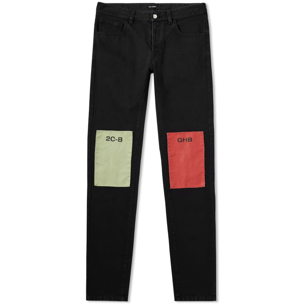 Raf Simons Patch Regular Fit Jean