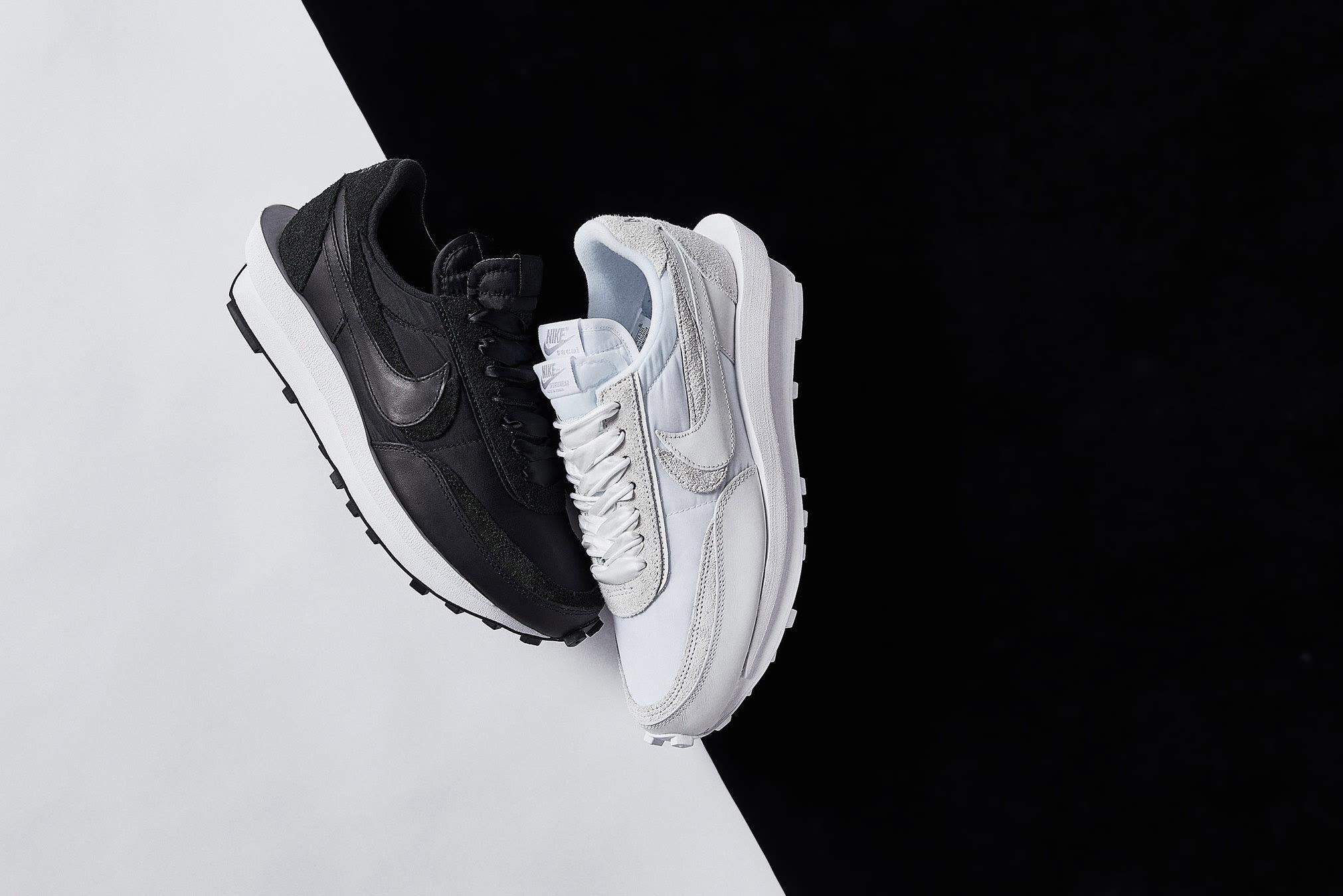 Nike x Sacai LDWaffle - BV0073-101 +  BV0073-002