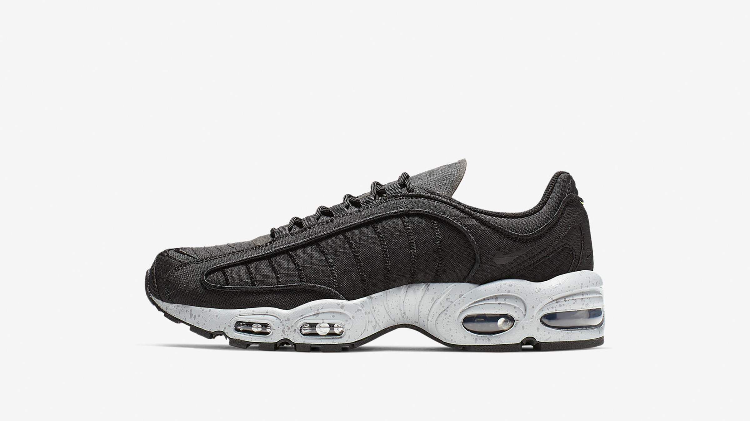 e38b03d8c0b950 Celebrating its 20th Anniversary, the Nike Air Max Tailwind receives an  rugged ripstop upgrade with a flourish of fluro