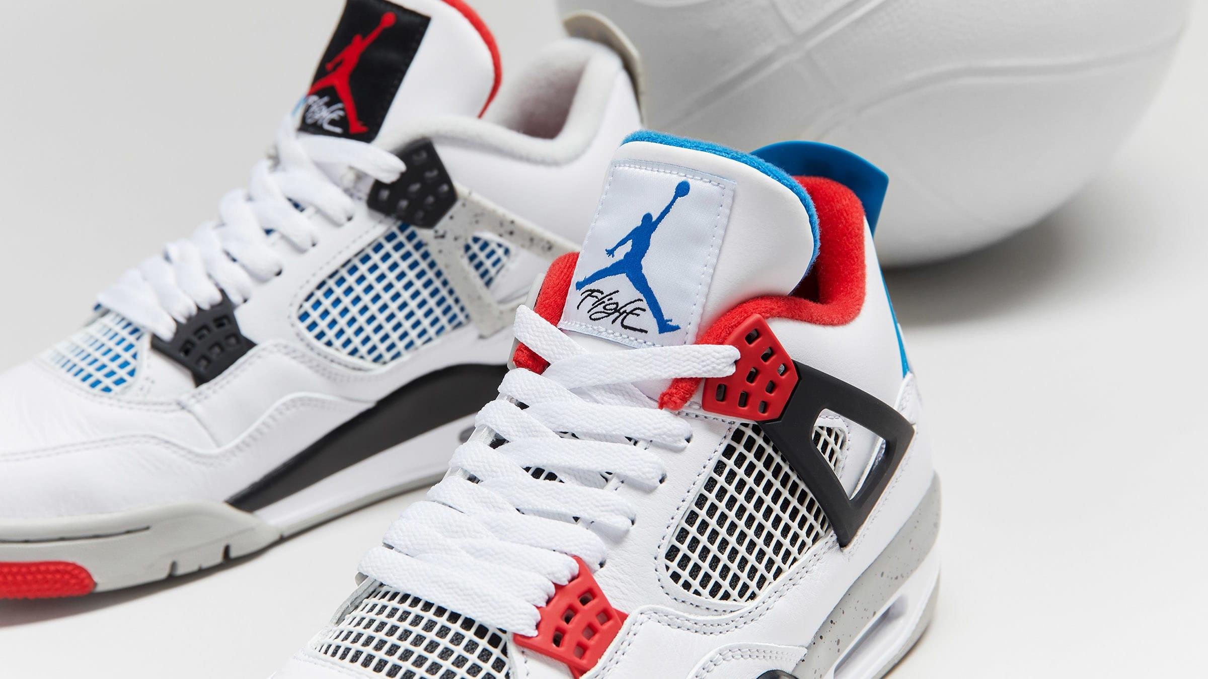Nike Air Jordan 4 'What The 4' - CI1184-146