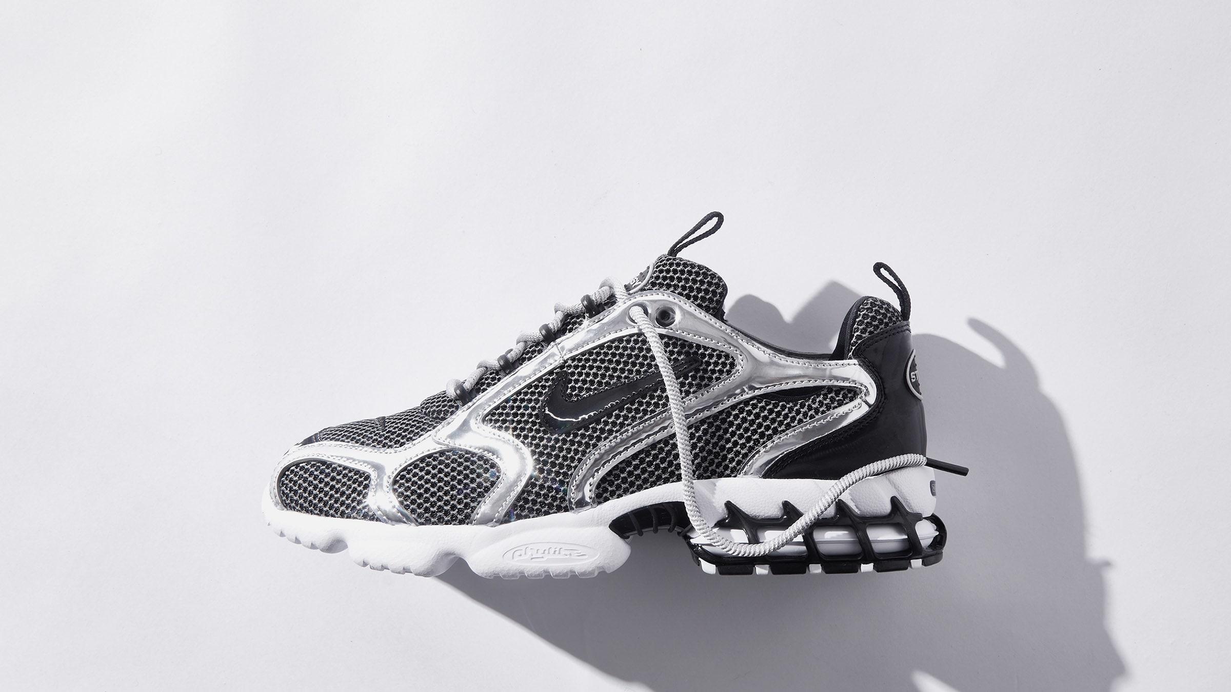 Nike x Stussy Air Zoom Spiridon Cage 2 - CU1854-001