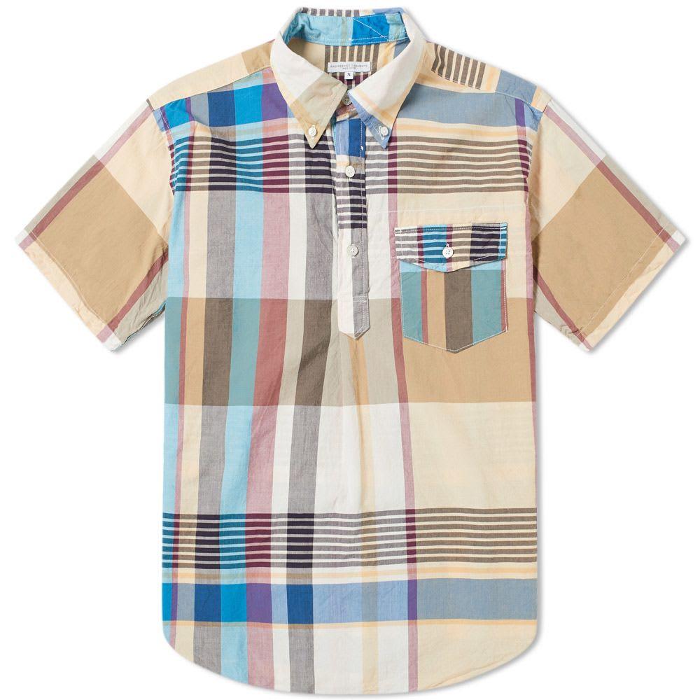 Engineered Garments Popover Madras Shirt