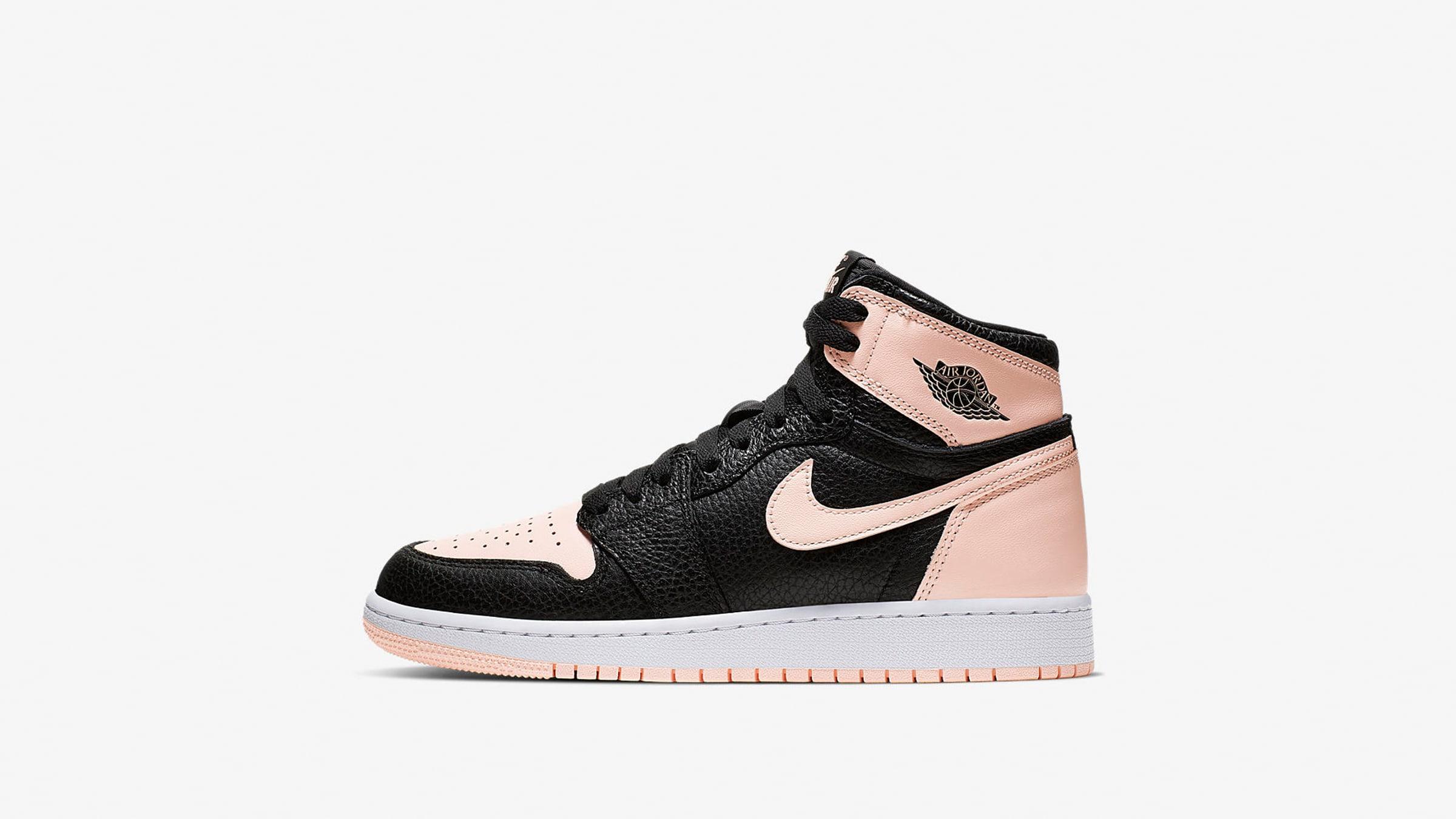 Nike Air Jordan Retro High OG GS 'Crimson Tint' - 575441-081
