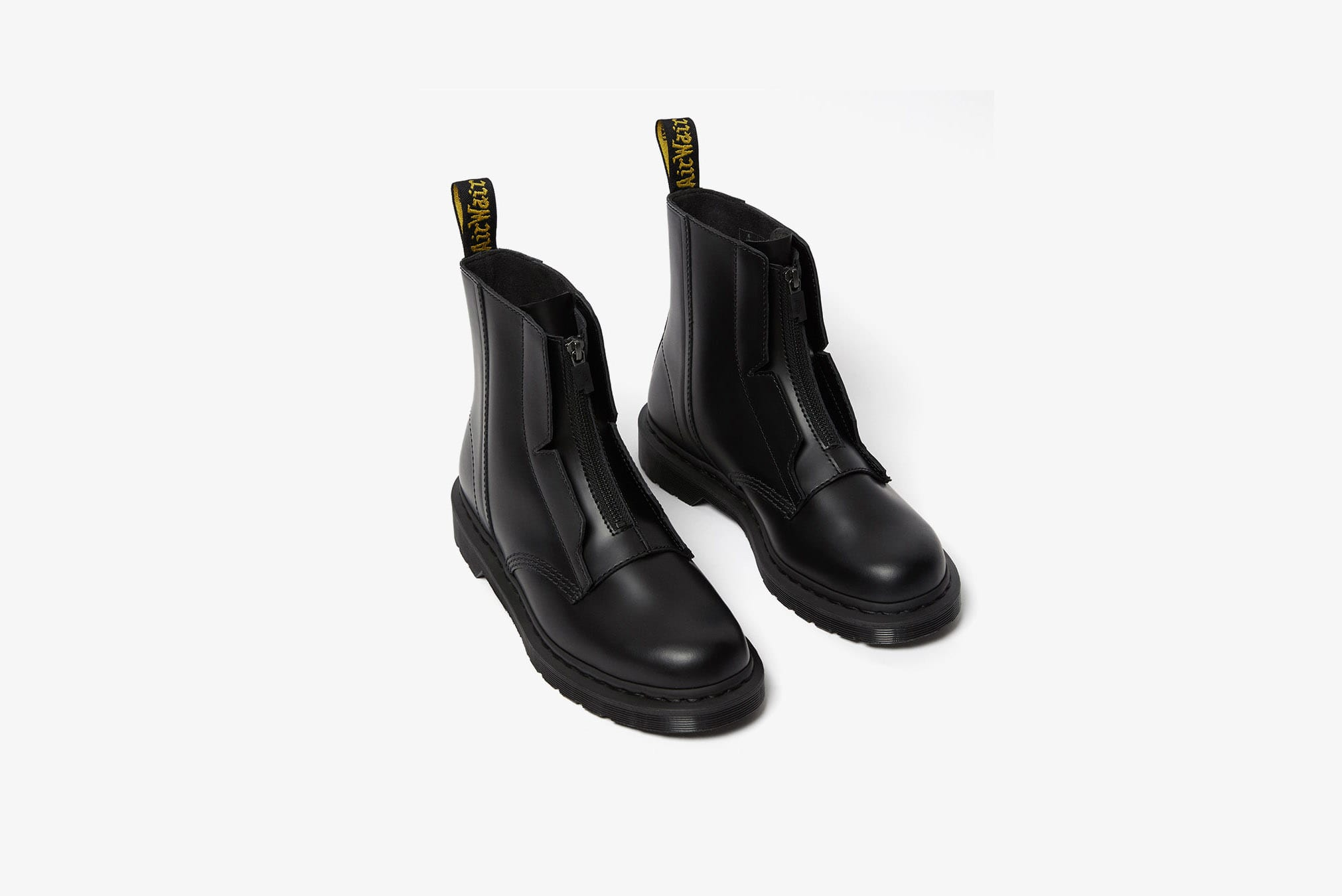 A-COLD-WALL* x Dr. Martens Zip-Up Leather Boot - 1460ACW