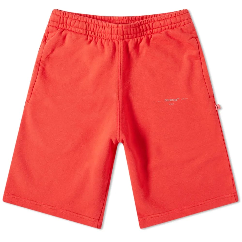 Off-White Unfinished 3M Sweat Short