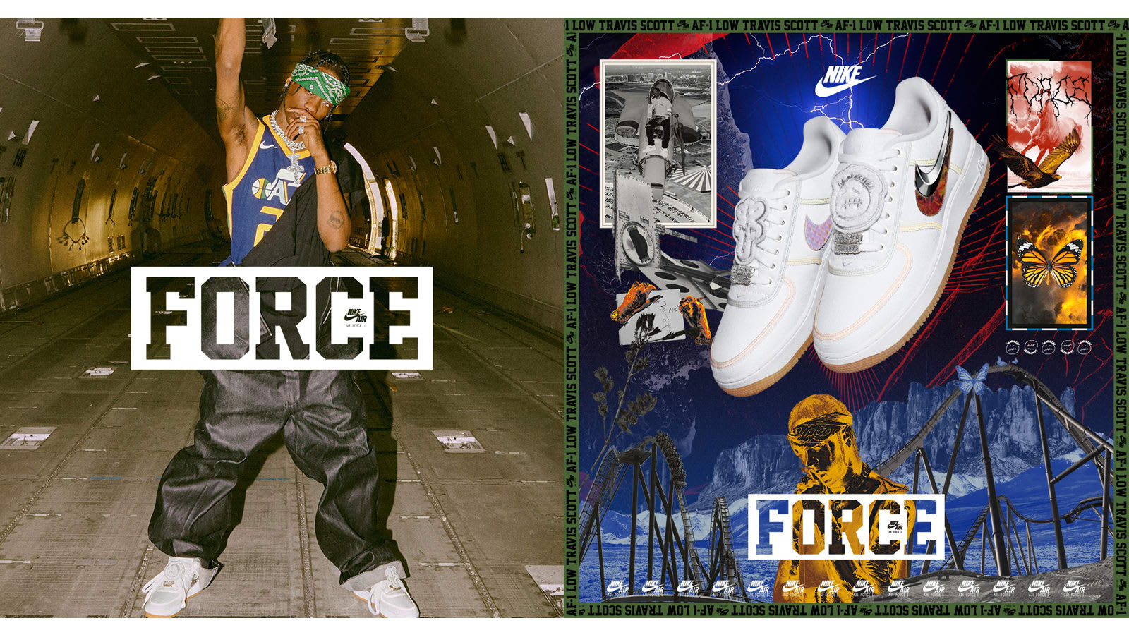 END. Features | Nike AF 100: Air Force 1 LowTravis Scott