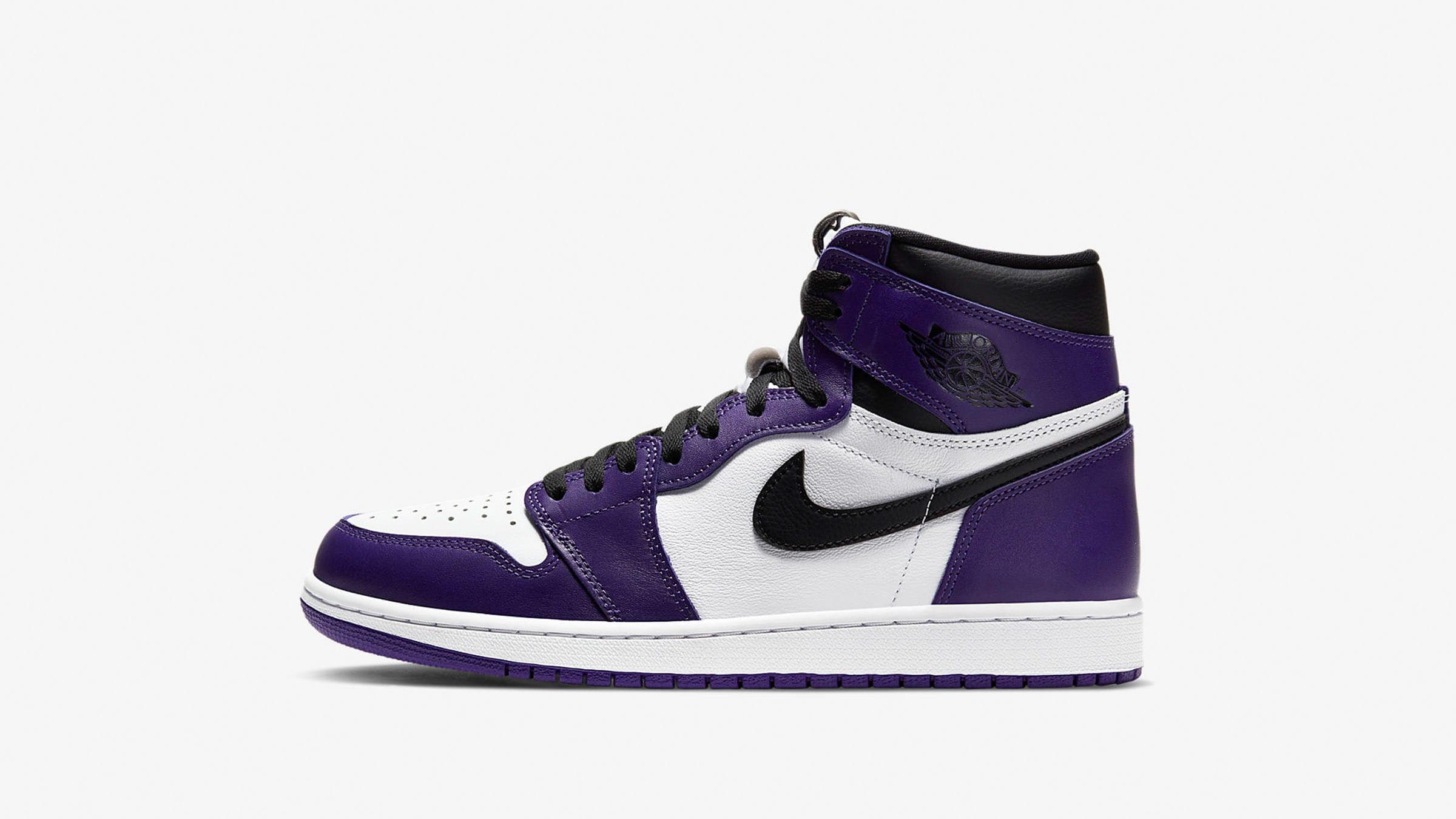 Nike Air Jordan 1 Retro High OG 'Court Purple' - 555088_500