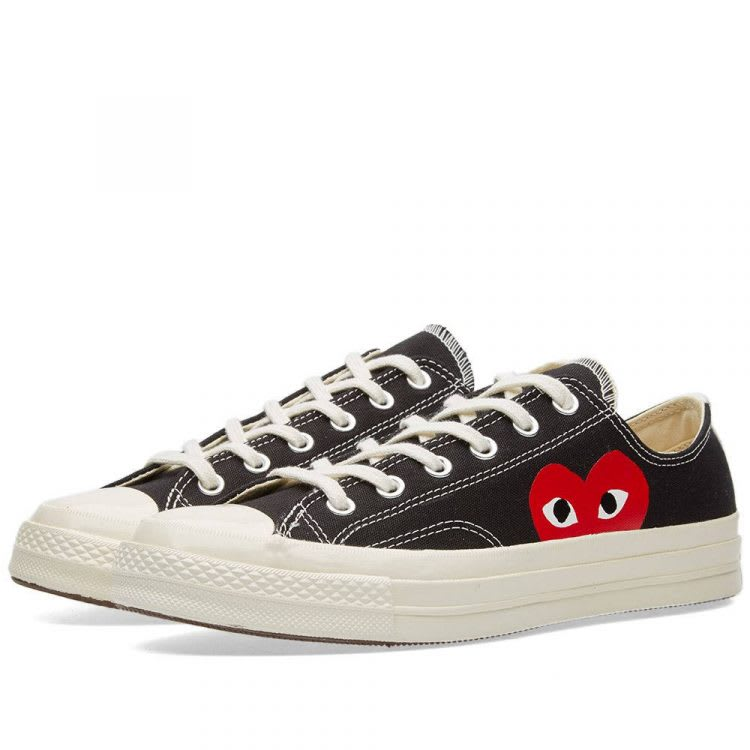 CDG PLAY x Converse Chuck Taylor 1970s Low
