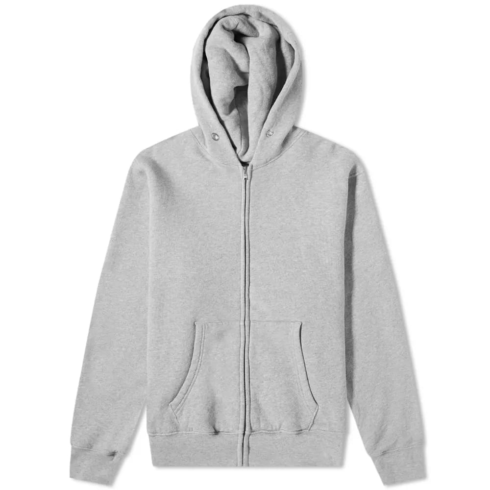 Les Tien Vintage Heavyweight Zip Hoody