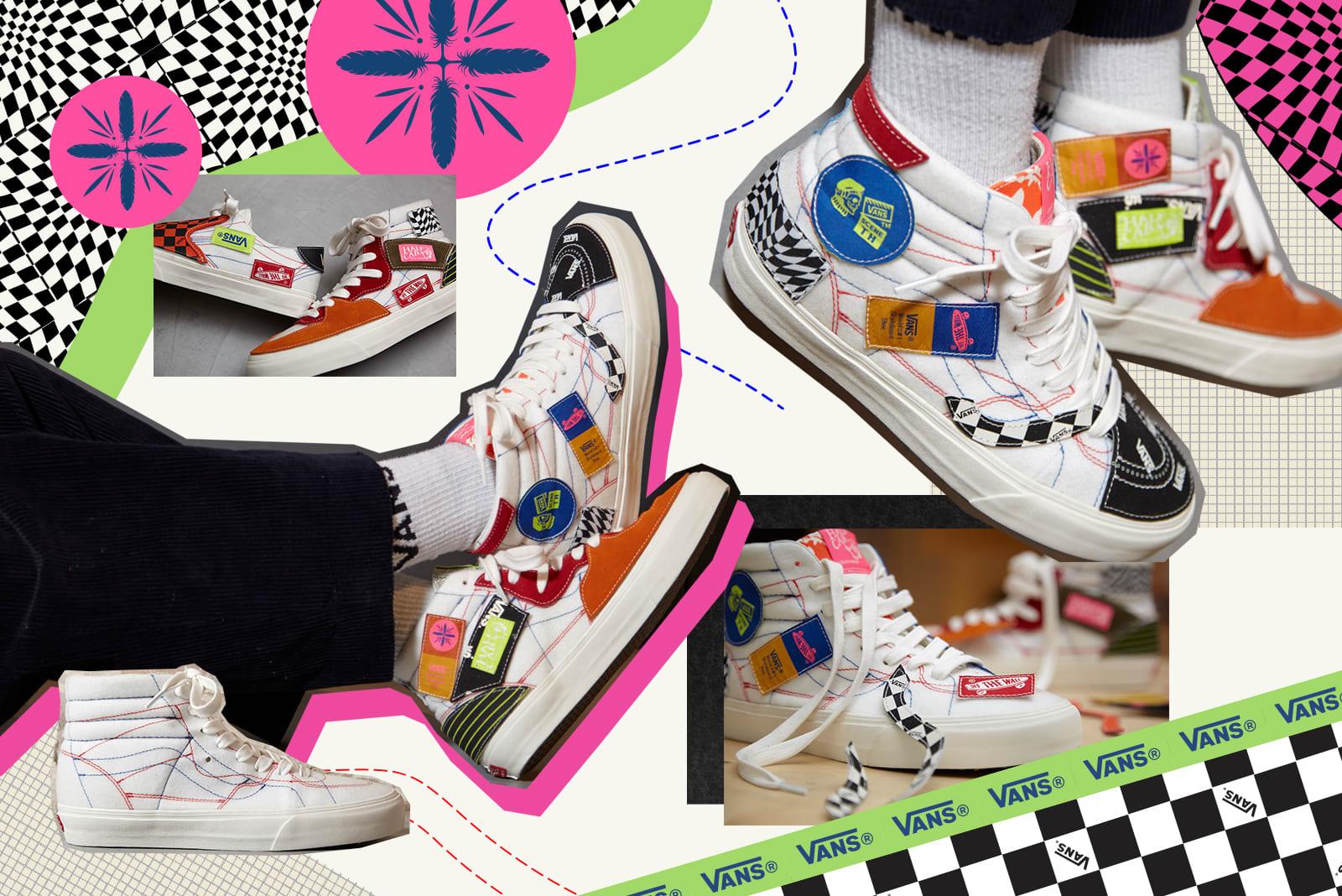 Vans Vault x Taka Hayashi DIY pack