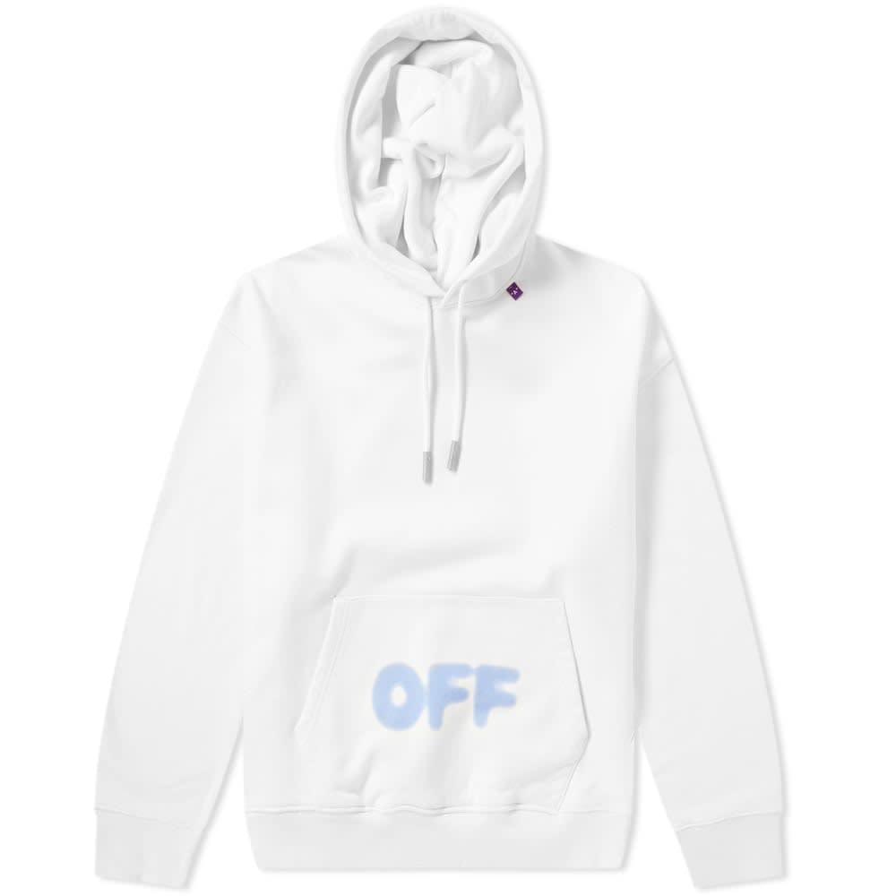 Off-White Diagonal Blurred Hoody