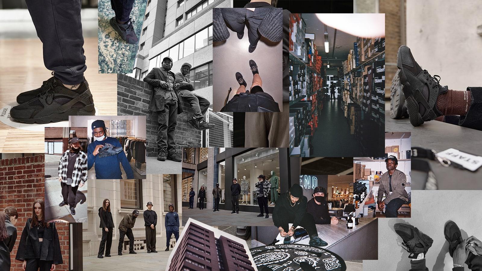 Flagship Photo-dumps: END. London in Nike Air Huarache
