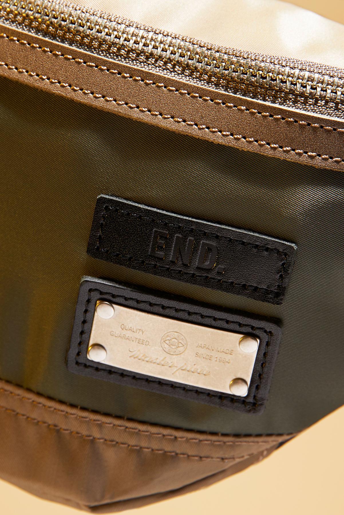 END. x Master-Piece Lightning Waist Bag - 02120 -END