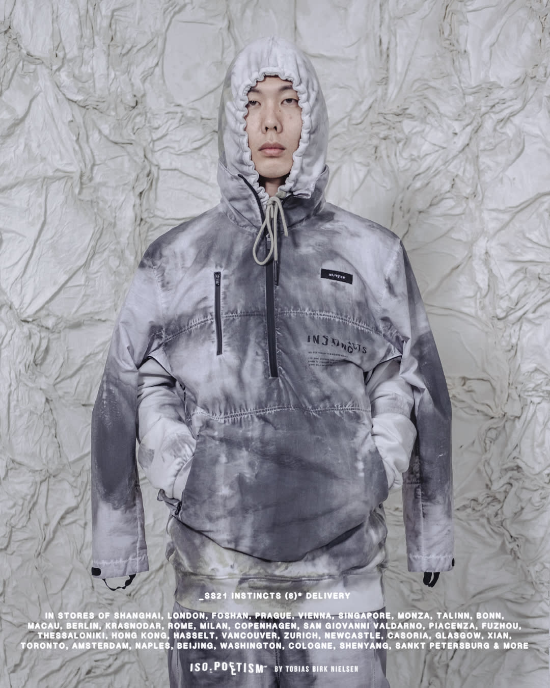 """ISO.POETISM by Tobias Birk Nielsen share their SS21 look book """"INSTINCTS"""""""