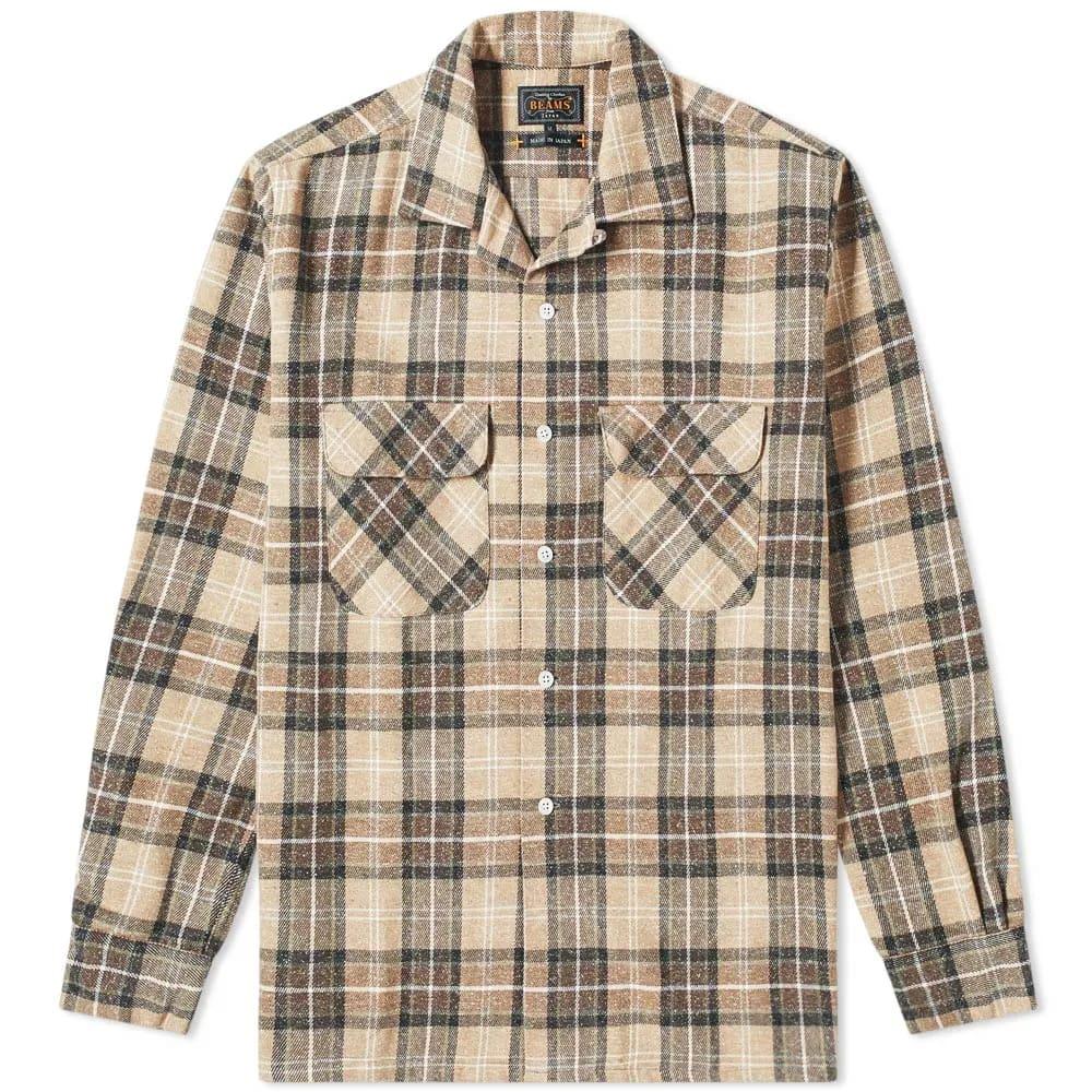 Beams Plus Open Jazz Nep Check Shirt