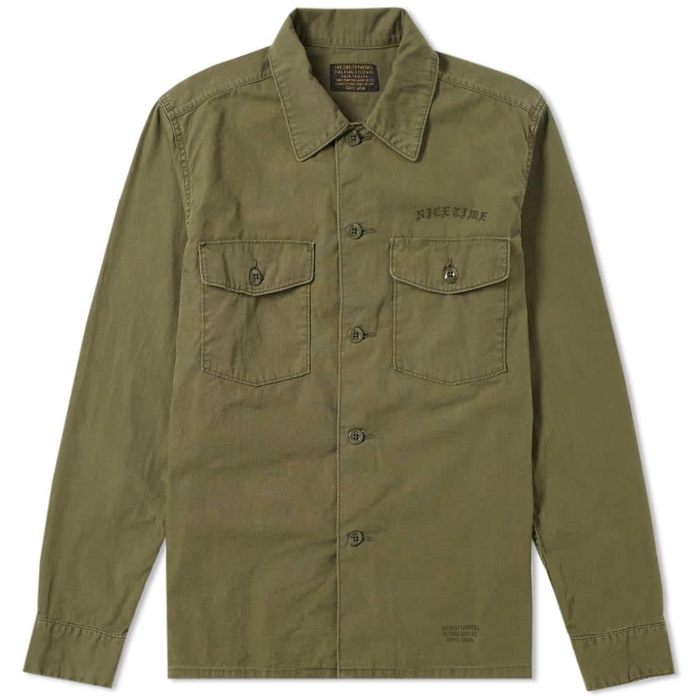 Classic Army Shirt Jacket