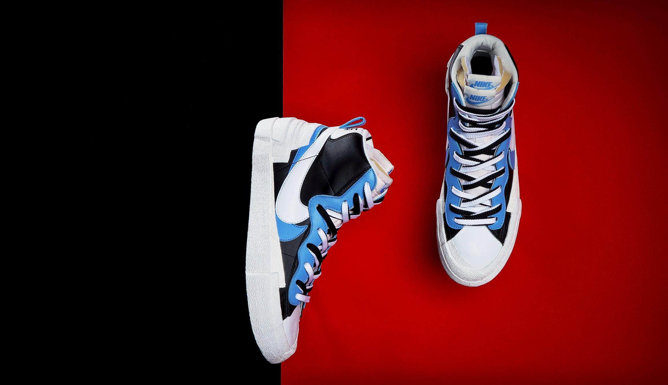 END. Features | Nike x Sacai Blazer Mid