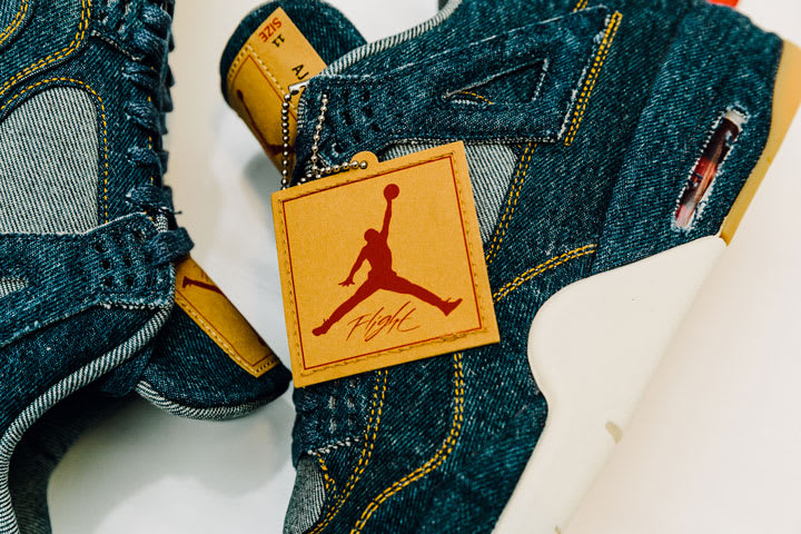 check out 32c34 c9651 END. Features | Levi's x Air Jordan 4 Retro - Launching 17th ...