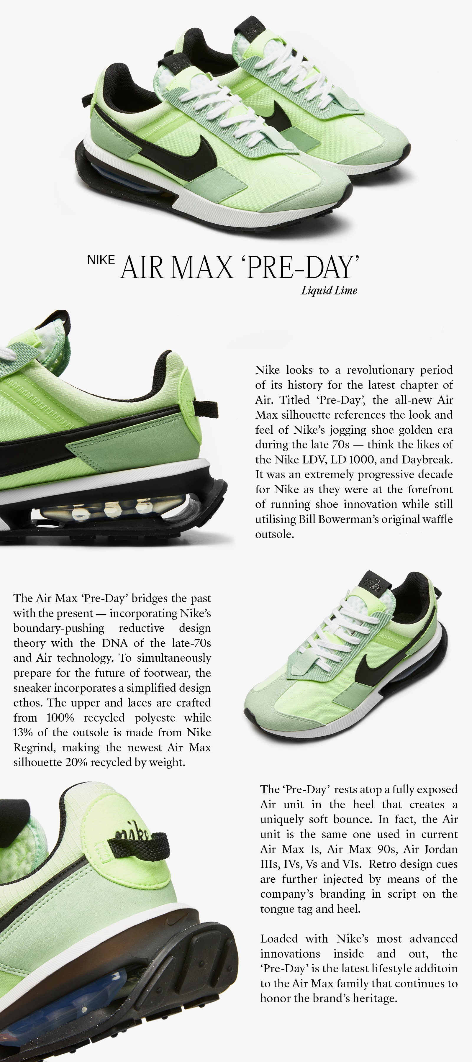 """Brand New Air: Nike Debuts Air Max """"Pre-Day""""  - by Hartcopy for END."""
