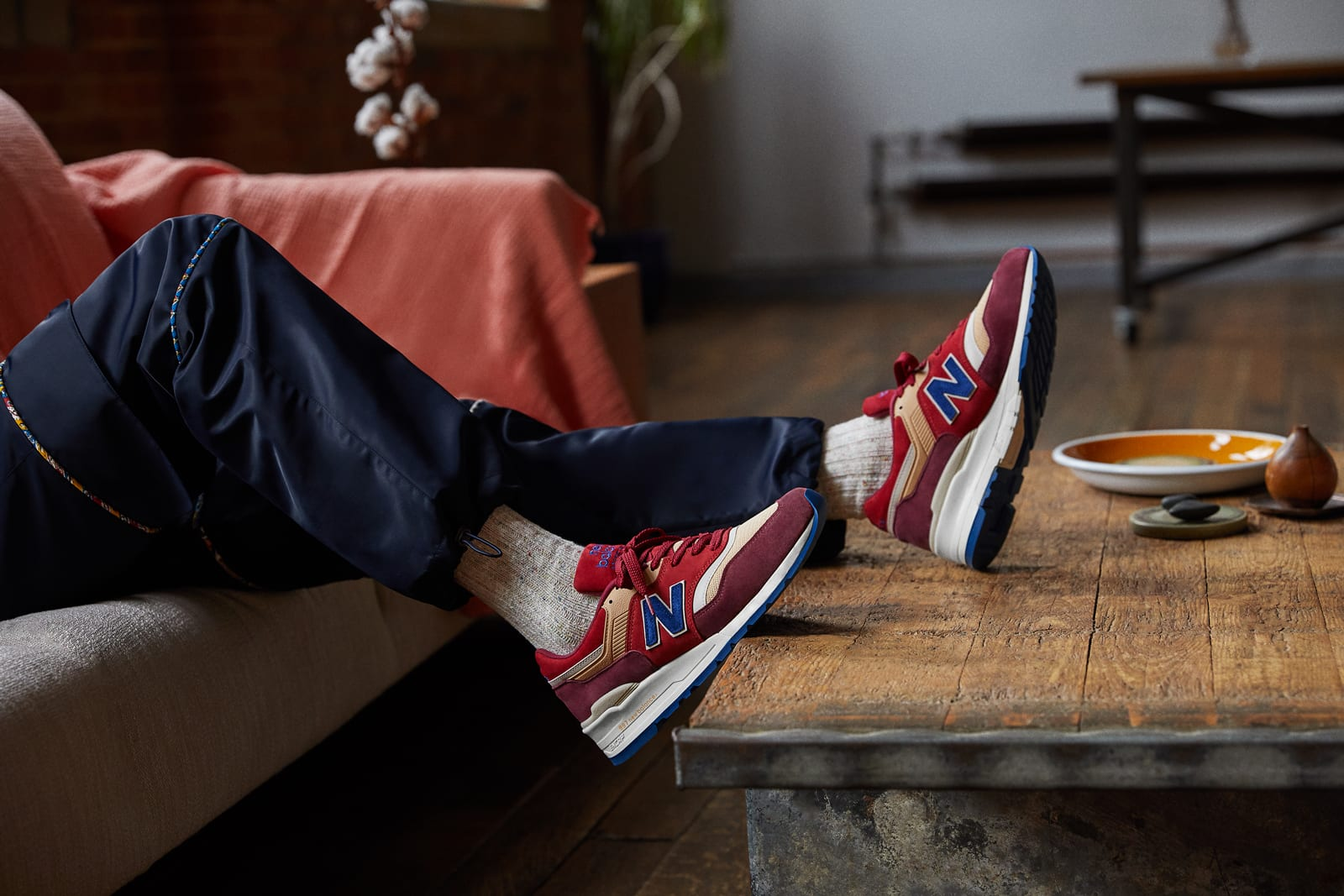 END. x New Balance M997END Made in England 'Persian Rug' - M997END