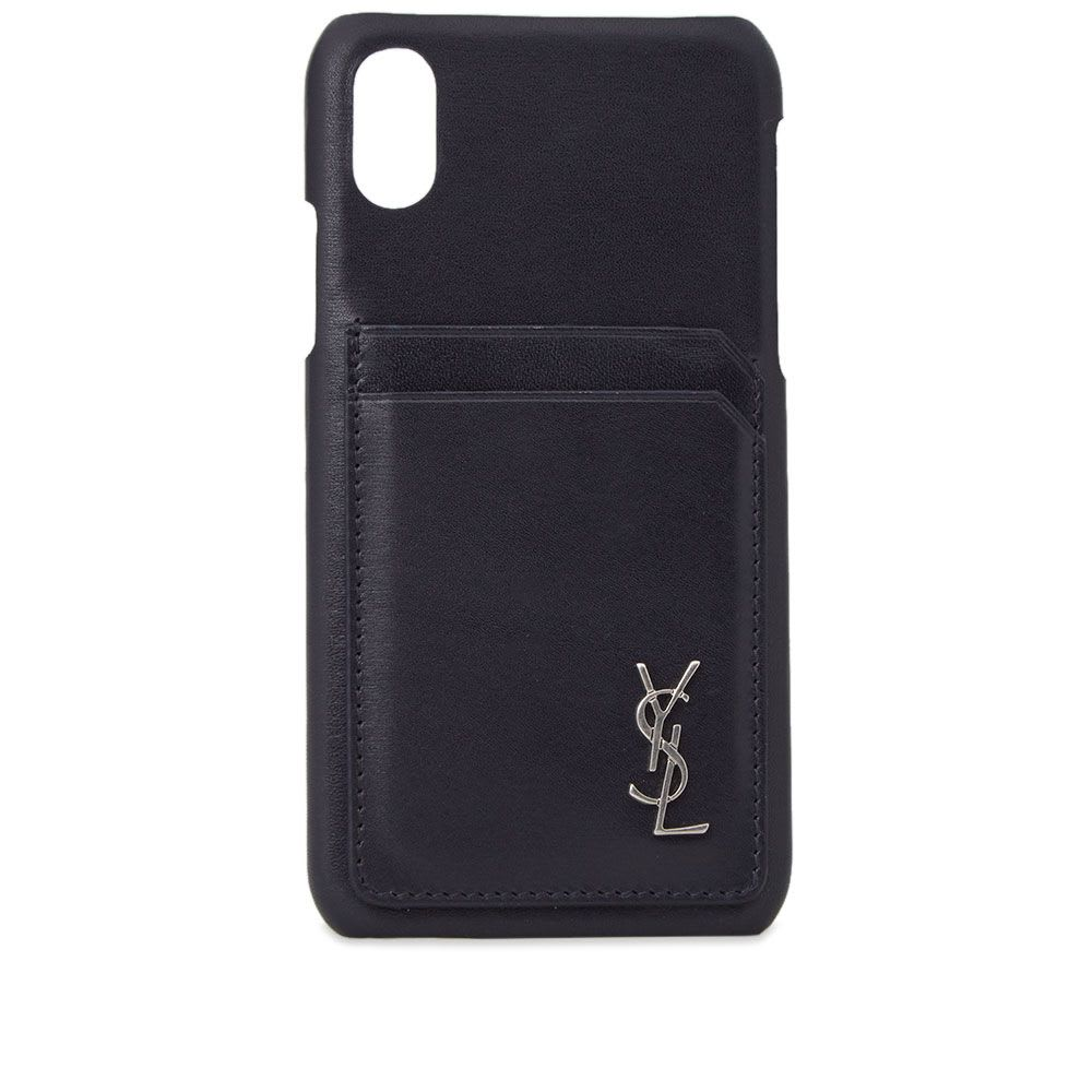 Saint Laurent Smooth Leather iPhone Case