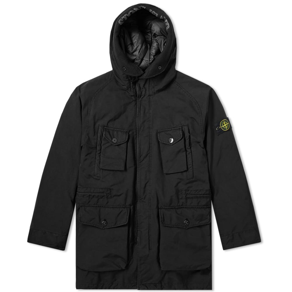 Stone Island David TC Long Parka