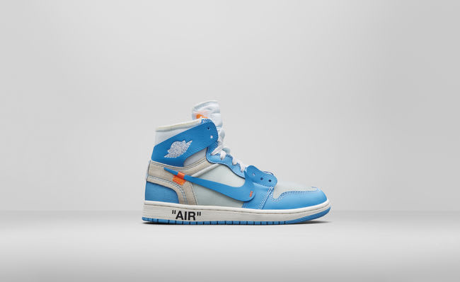 great fit later best sneakers END. Features | Nike Air Jordan 1 x Off White 'UNC' - Launching ...
