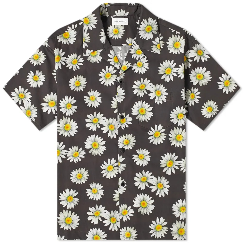 Curated 001 | Escapism - John Elliott Bowling Shirt Daisy Print