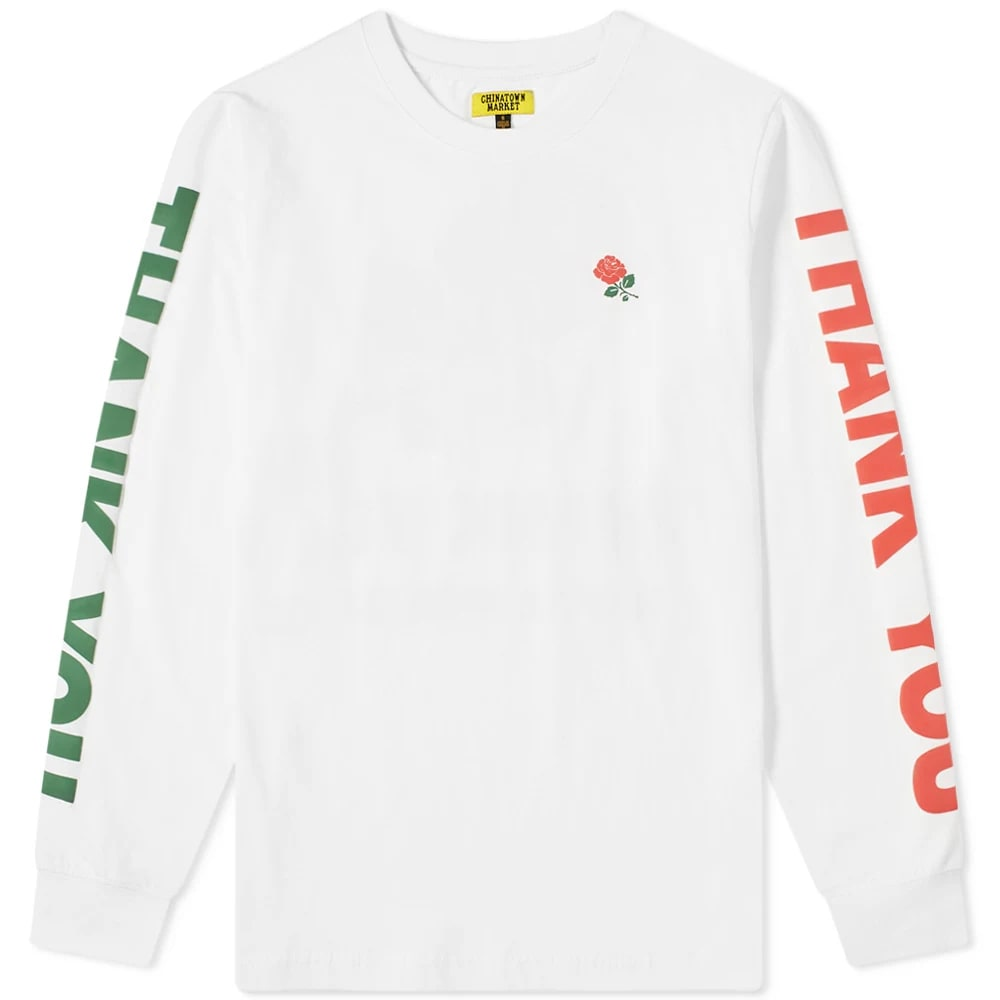 Chinatown Market Long Sleeve Thank You Tee