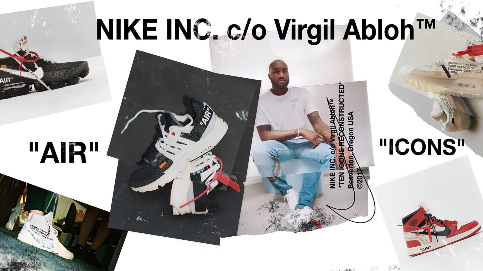 Nike X Virgil Abloh The Ten Air Force 1 Air Max 97