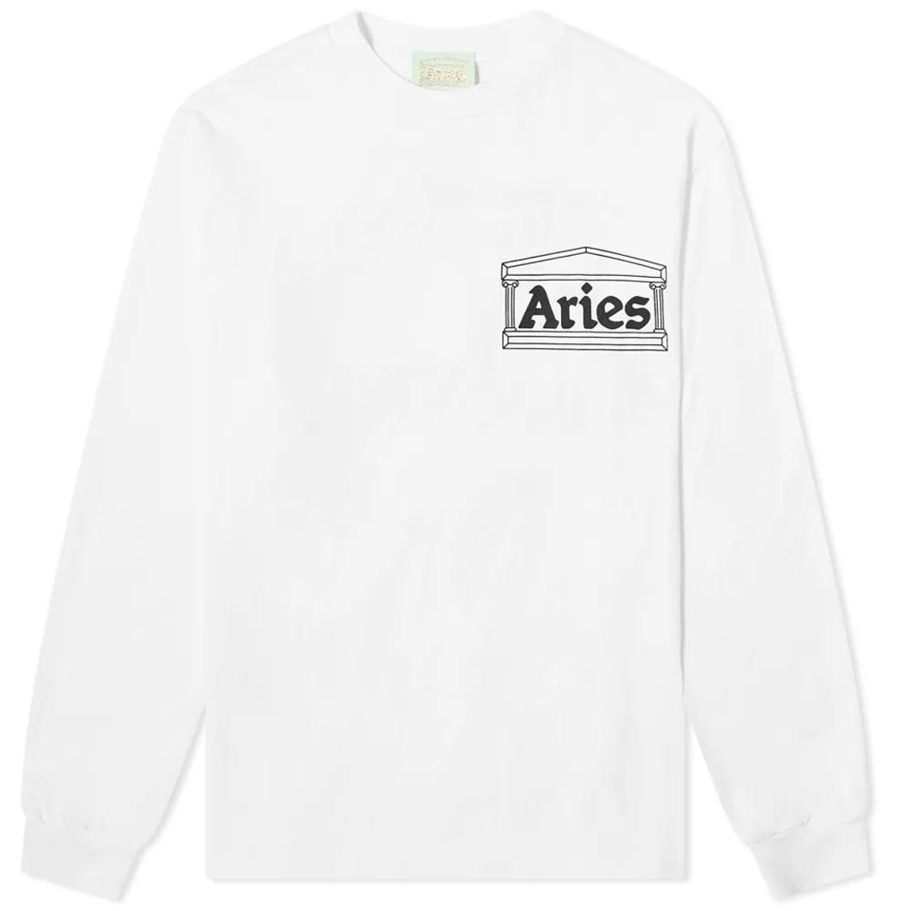 Aries Long Sleeve Y2K Tee