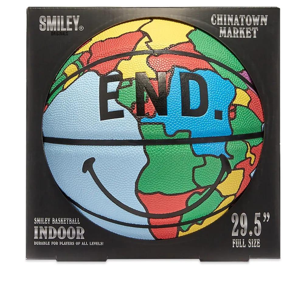 END. x Chinatown Market Globe Basketball