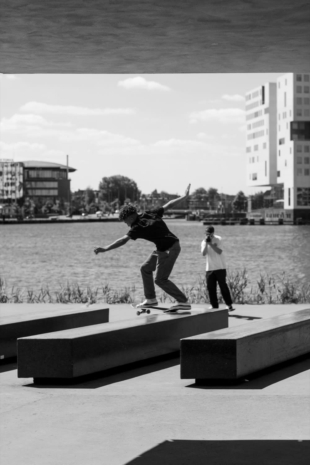 Pop Trading Company Test Their Converse Jack Purcell Pro in Amsterdam