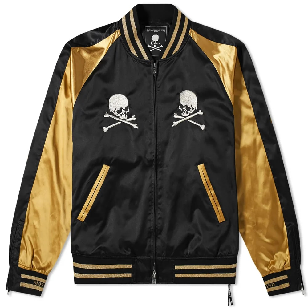MASTERMIND WORLD Skull Souvenir Jacket