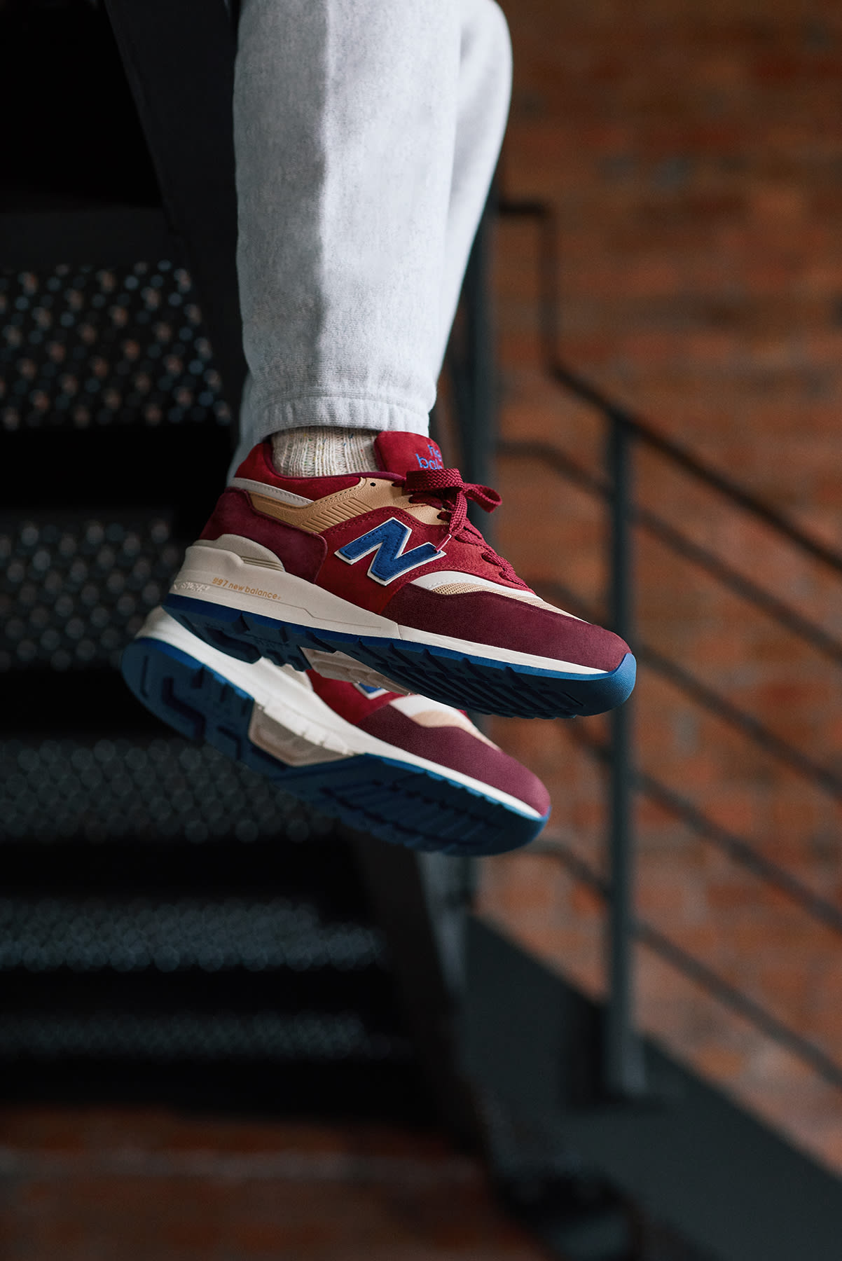 END. x New Balance M997 Made in USA 'Persian Rug' - M997END