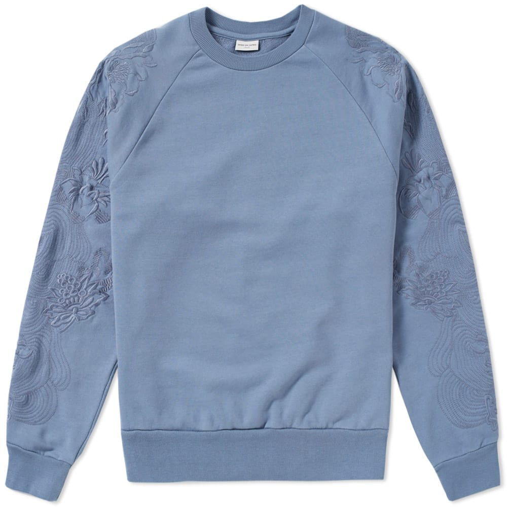 Huskins Embroidered Sleeve Sweat