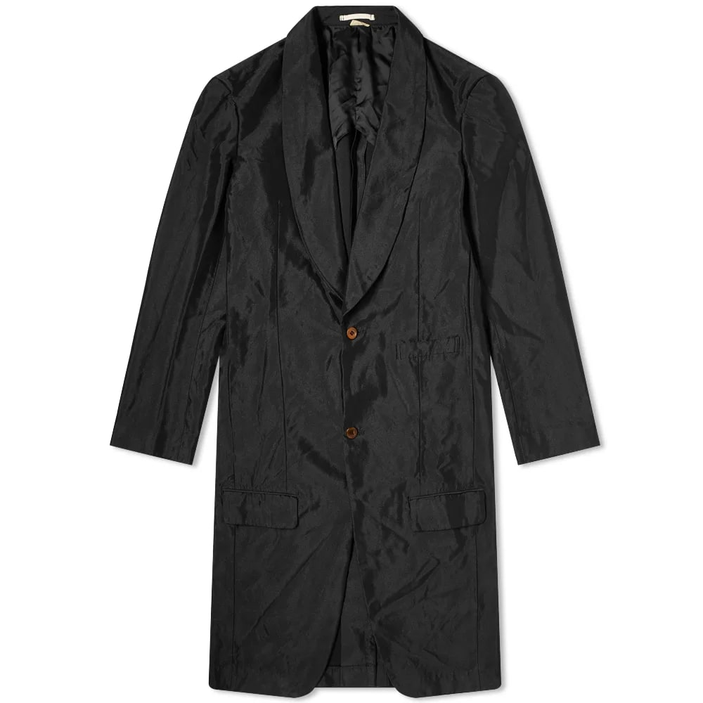 Comme Des Garçons Homme Plus Single Breasted Overcoat