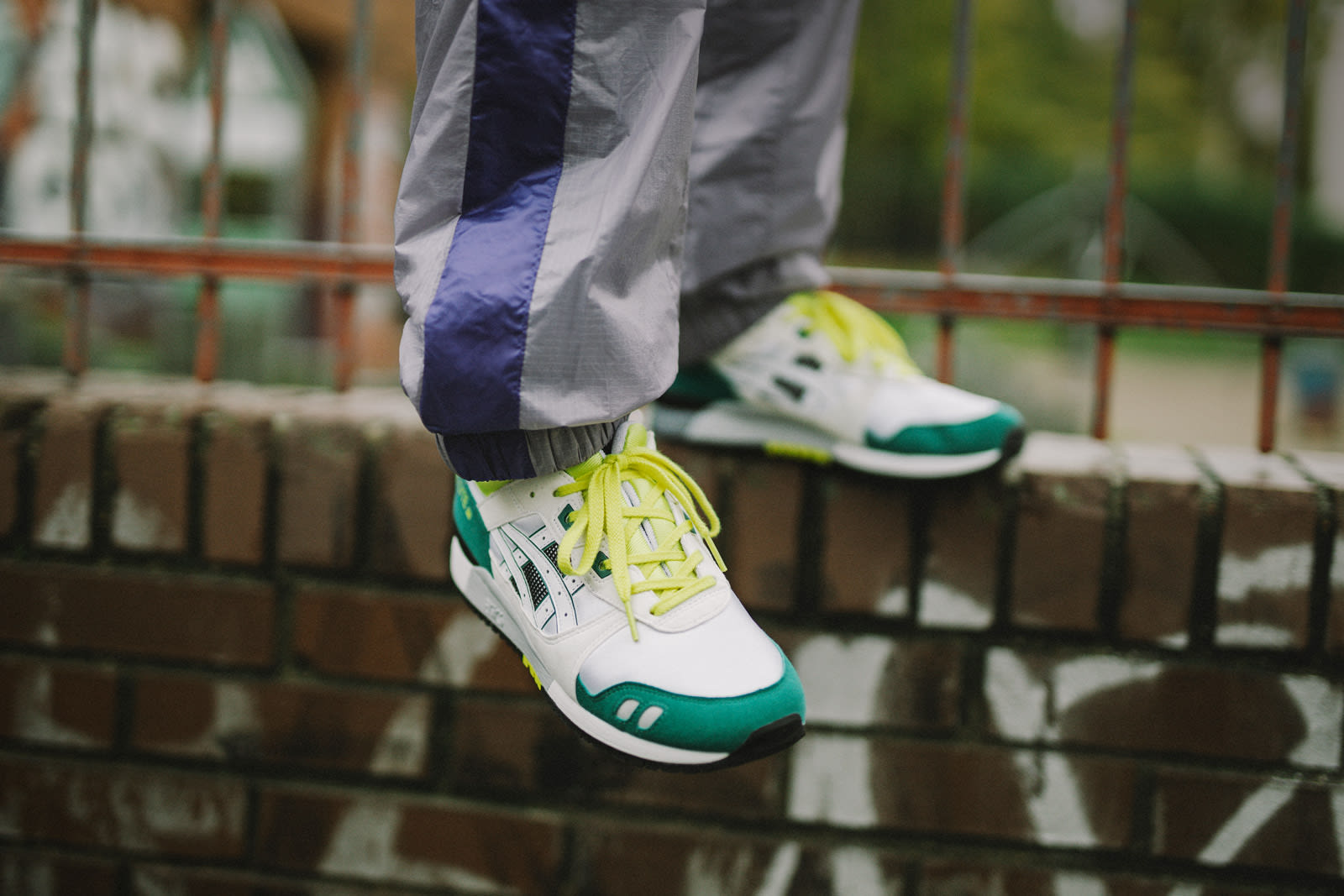 END. Features | ASICS Gel Lyte III Register Now on END