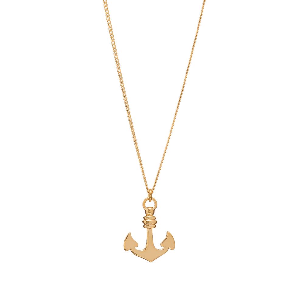 A.P.C. Marine Anchor Necklace