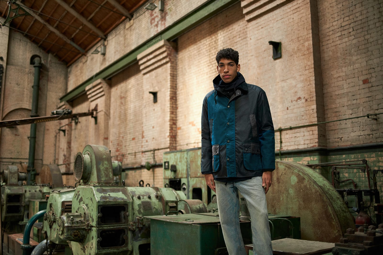 END. x Barbour Re-Engineered Ashby - MWX1669-NY