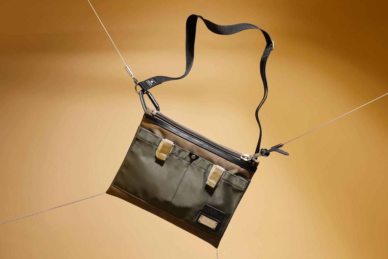 END. x Master-Piece Link Shoulder Bag - 02343-END