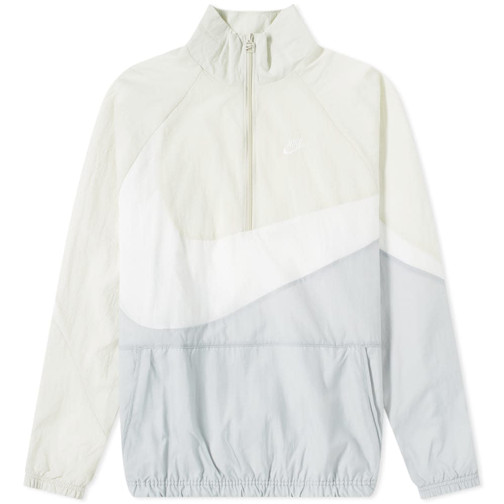 Nike NSW Swoosh Woven Half Zip Jacket
