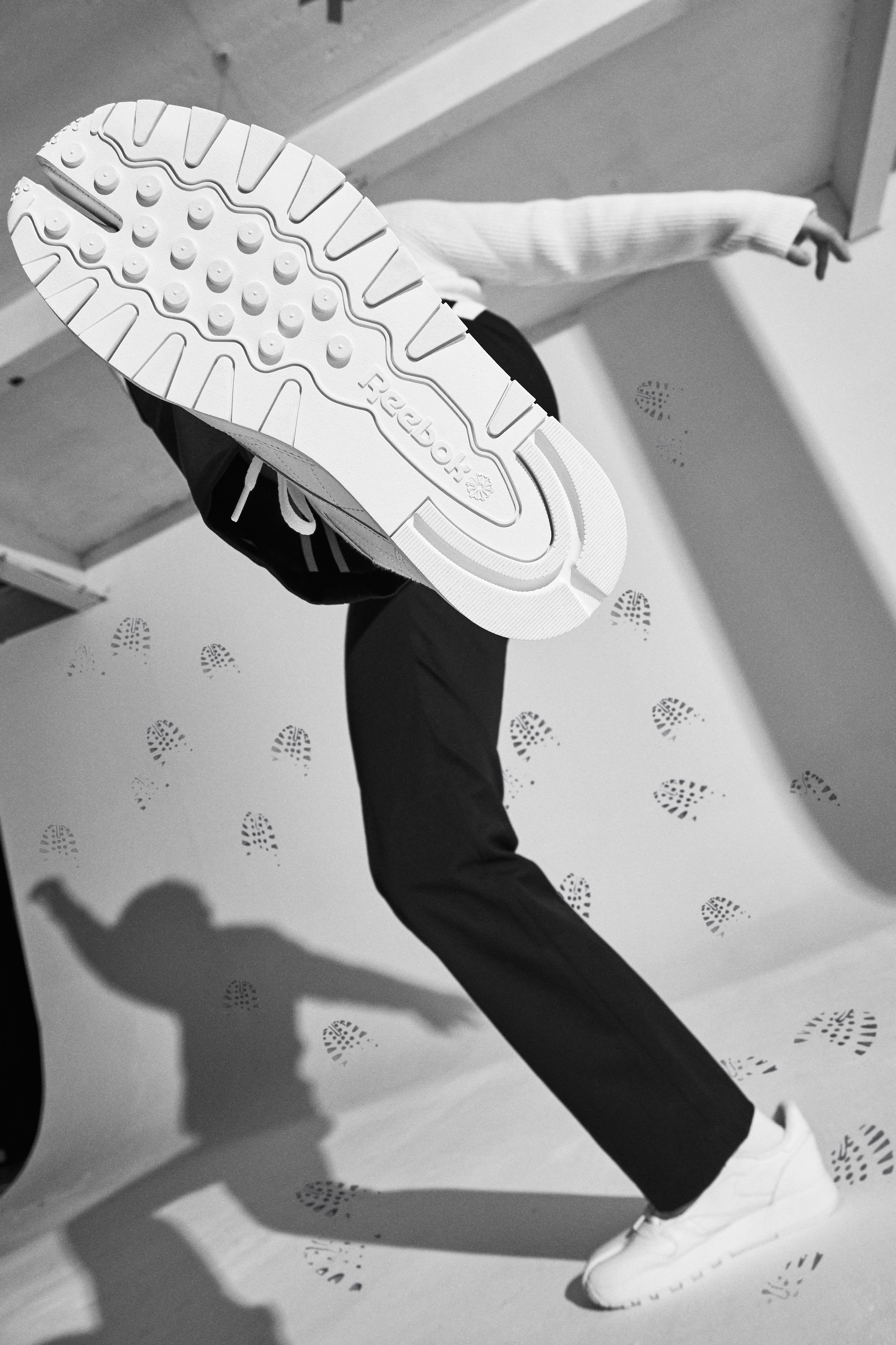 Reebok x Maison Margiela: Name a More Iconic Duo - Model wears