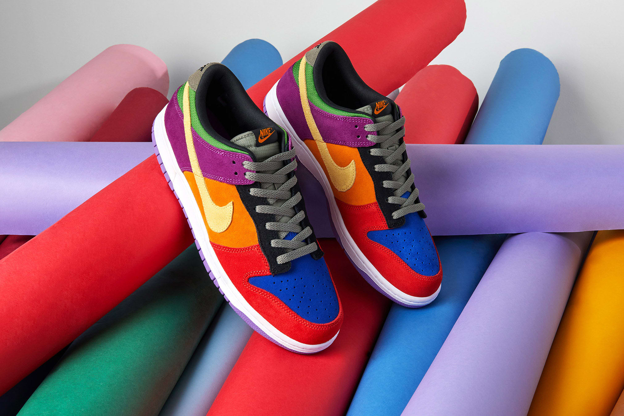 END. Features   Nike Dunk Low 'Viotech