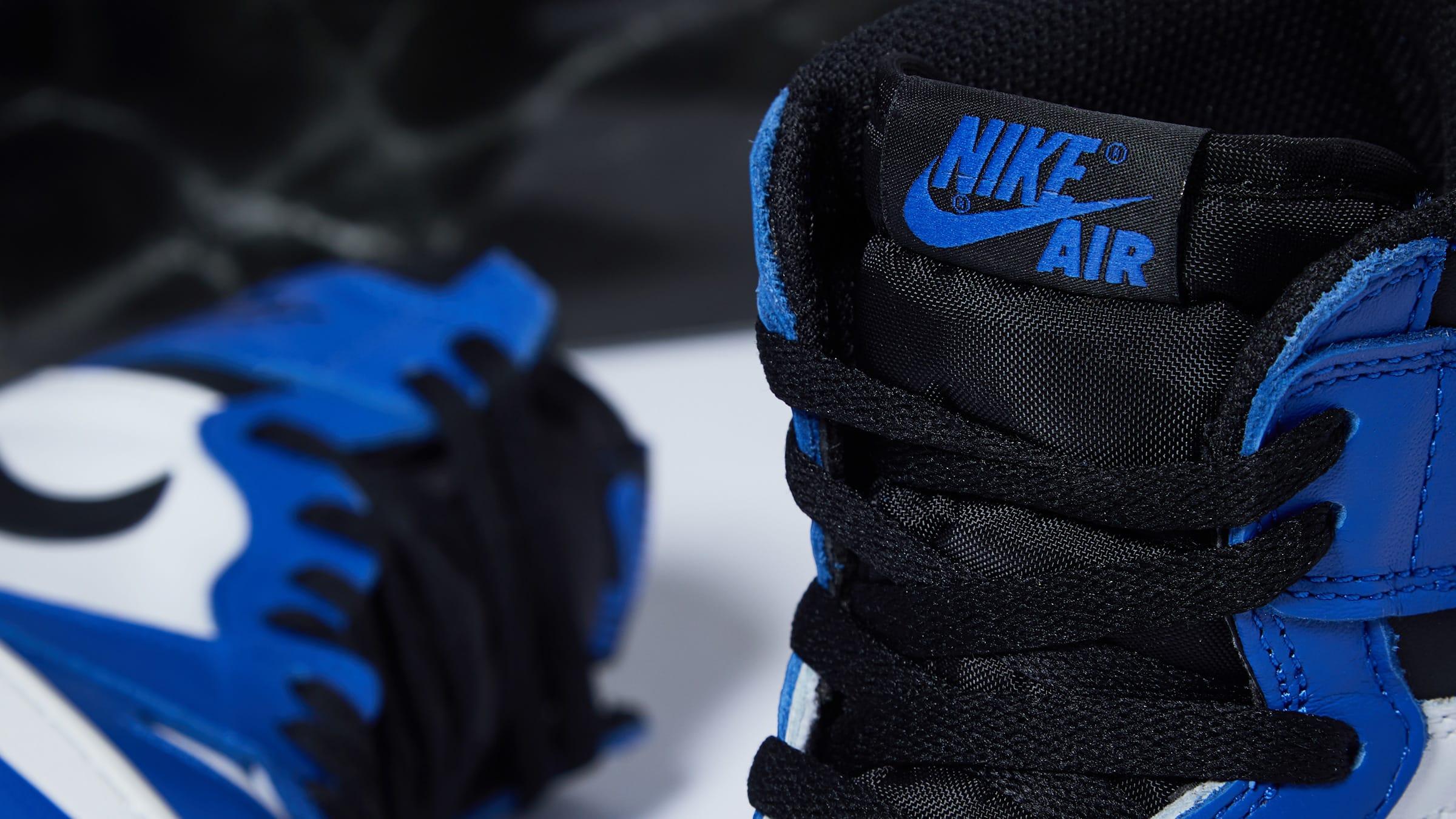 End Features Nike Air Jordan 1 Retro High Og Reverse Royals
