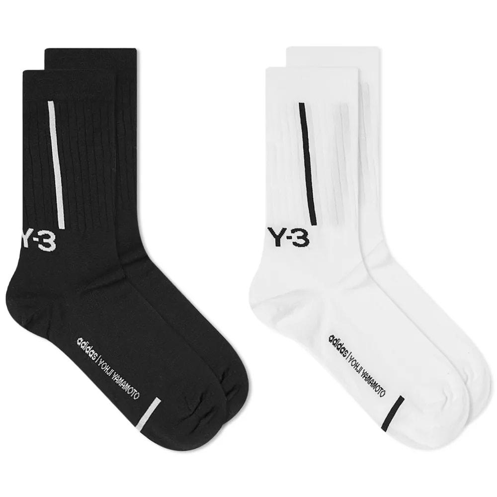 Y-3 Crew Sock 2 Pack