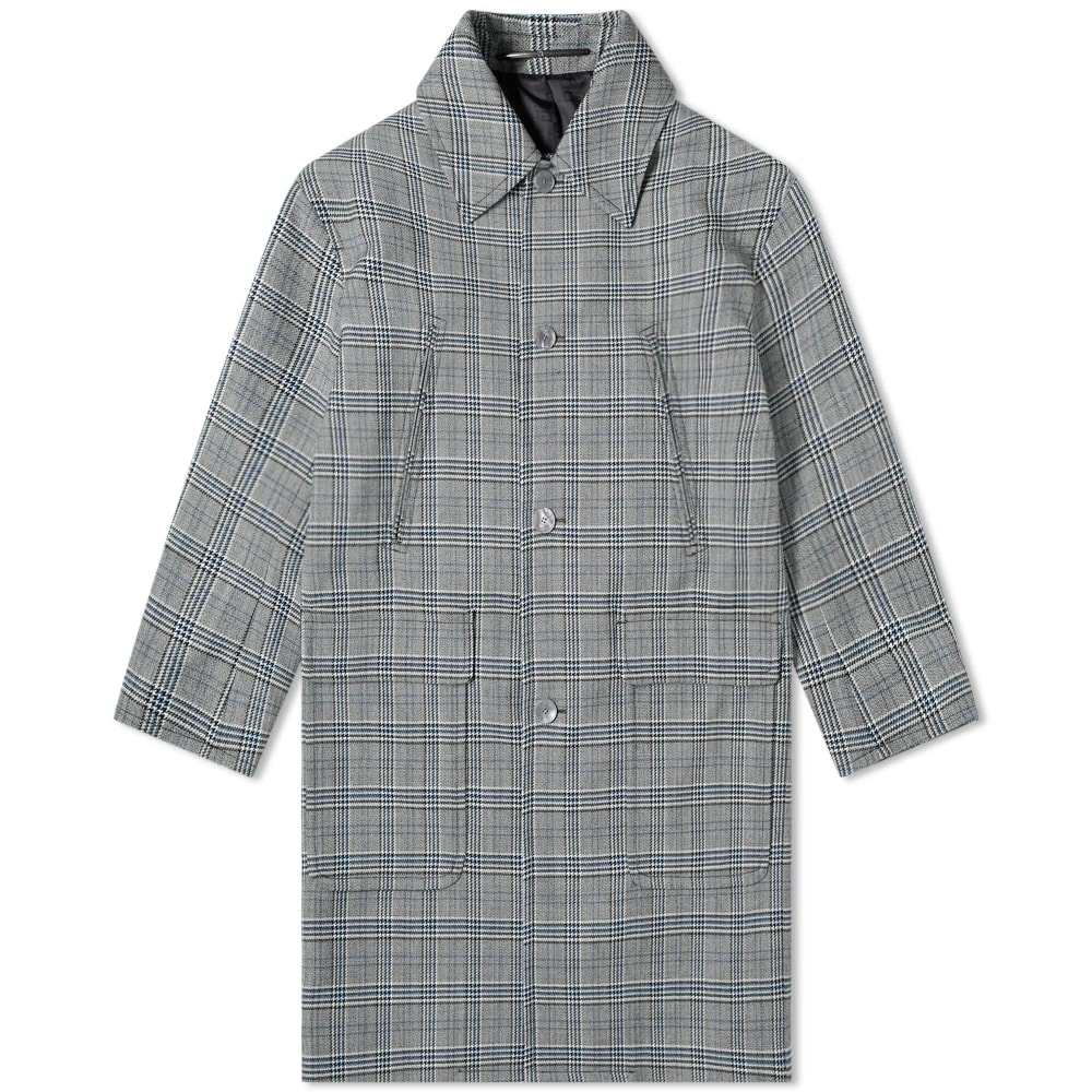 Givenchy Prince of Wales Wool Coat