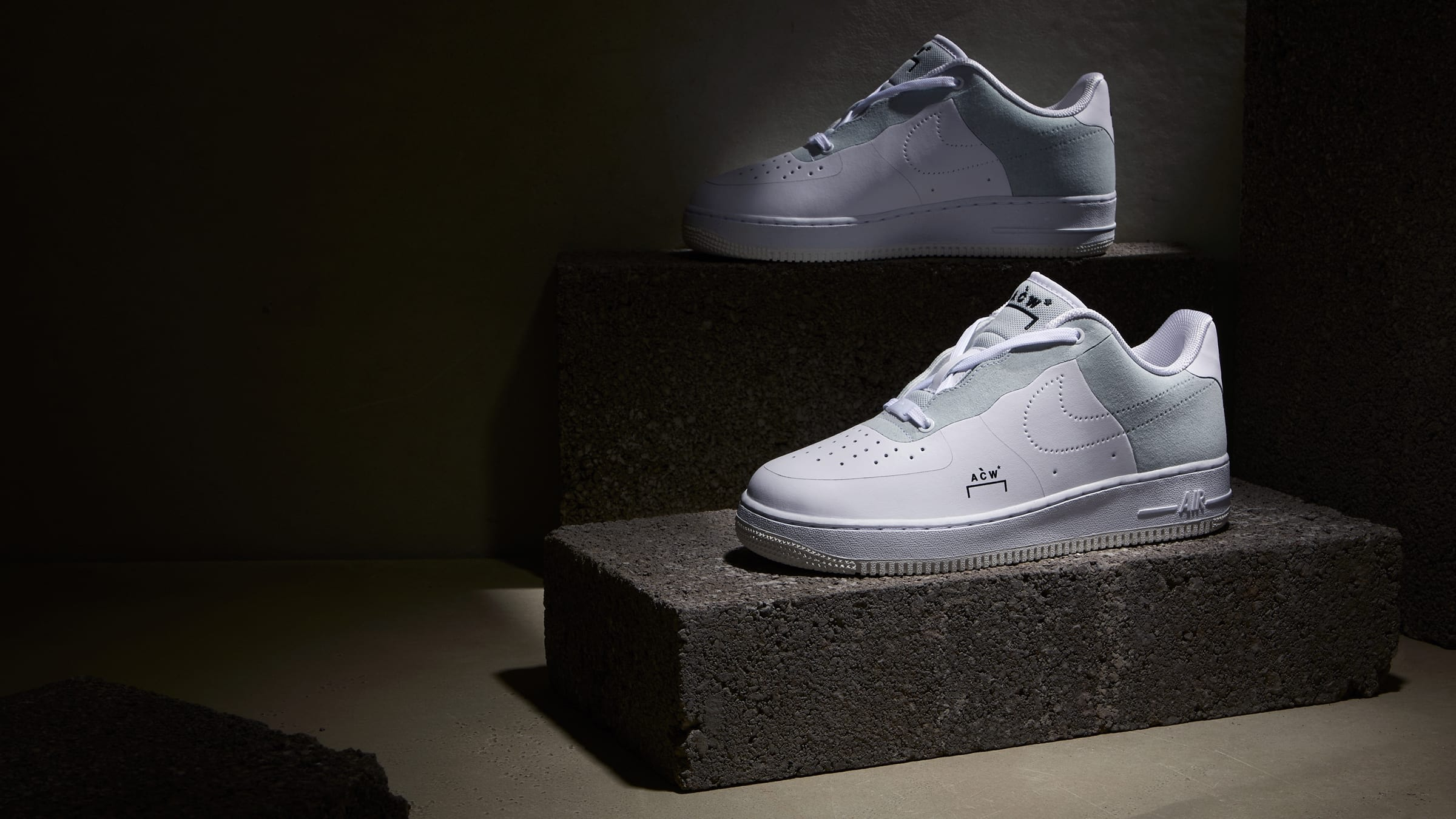 Air Force 1 acw A cold wall white