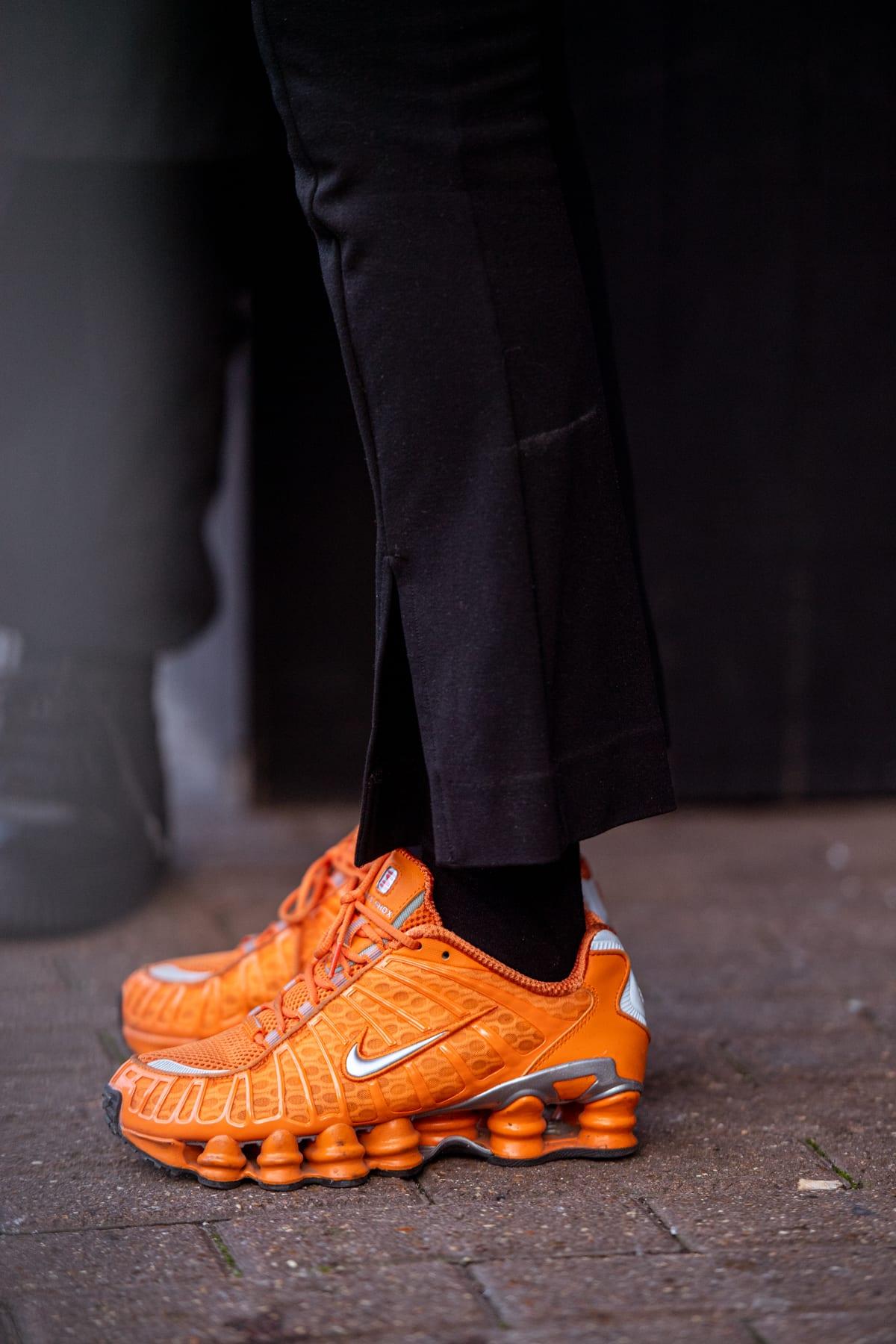 Nike Shox TL at London Men's Fashion Week AW20