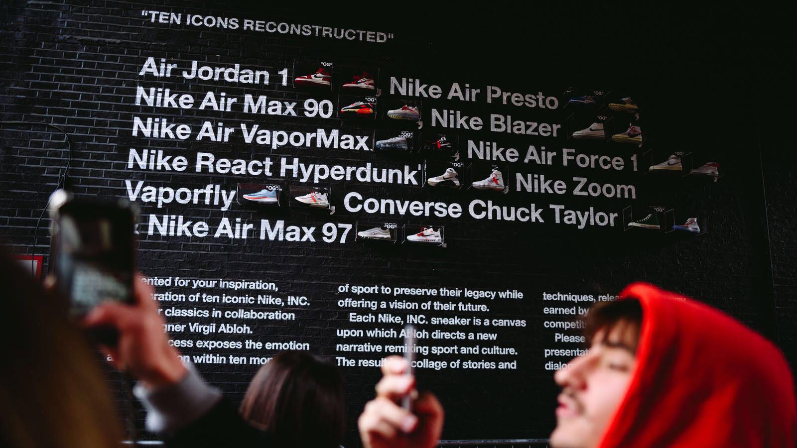 END. Features | Nike x Virgil Abloh 'Project Ten' London